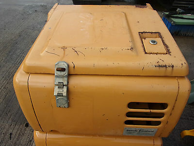Case CX210 Excavator Tool box with lid