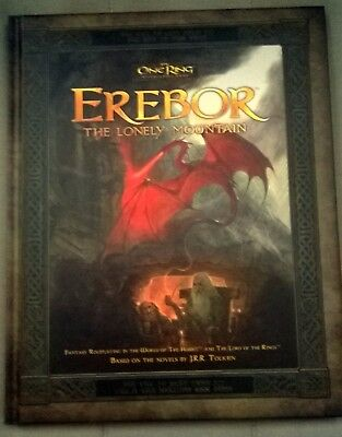 The One Ring: RPG: Erebor - The Lonely to the Mountain - Very Good Condition!