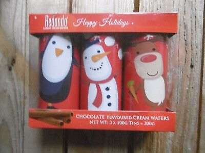 Christmas Tins Of Biscuits