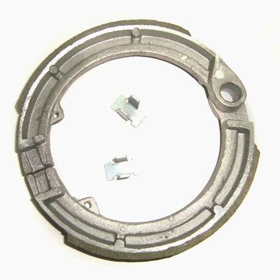Front Brake Shoes With Clips For Early Vespa V100 Models