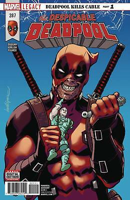 Despicable Deadpool #287 (2017) 1St Print Bagged & Baorded Marvel Legacy Tie-In