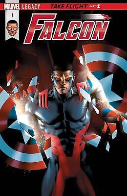 Falcon #1 (2017) 1St Printing Bagged & Boarded Marvel Legacy Tie-In
