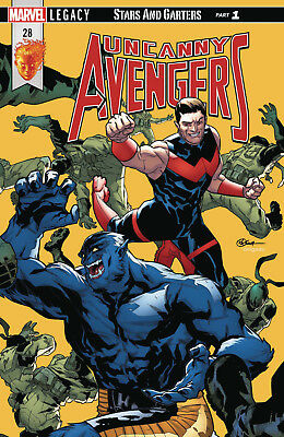 Uncanny Avengers #28 (2017) 1St Printing Bagged & Boarded Marvel Legacy