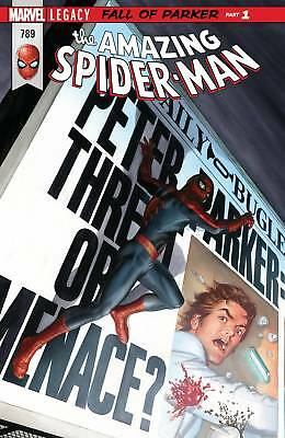 Amazing Spider-Man #789 (2017) 1St Print Marvel Legacy Tie-In Bagged & Boarded