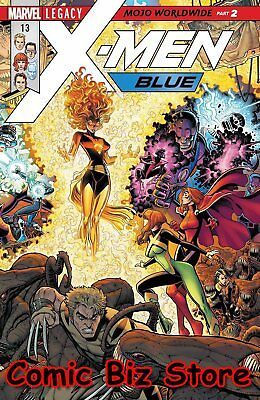 X-Men Blue #13 (2017) 1St Printng Bagged & Boarded Marvel Legacy Tie-In