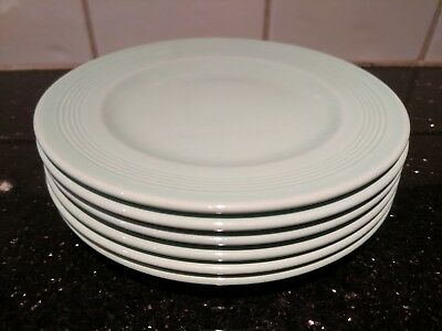 Woods Ware Beryl - Green - 6 x Small Side Plates