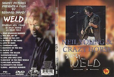 NEIL YOUNG Shakey Weld 1991 Tour Film Real DVD New