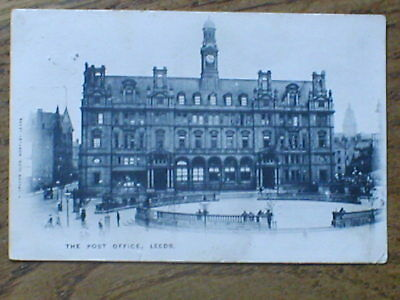 CLEAR REAL PHOTO  PC of THE POST OFFICE  LEEDS