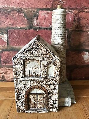 Fabulous Authentic Troika 1982 Tin Mine Ornament / Lamp Base by Jane Fitzgerald