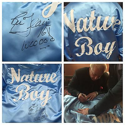 Autographed Ric Flair Nature Boy Robe