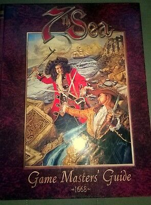 7th Sea RPG - Game Master's Guide - 1st Edition - Very Good Condition!!!