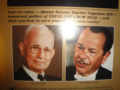 The Master Key To Success - Napoleon Hill + W Clement Stone LIVE Wealth Training