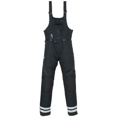Richa BIB Reflex - Waterproof Textile Motorcycle Trouser Short length- Bib-Brace