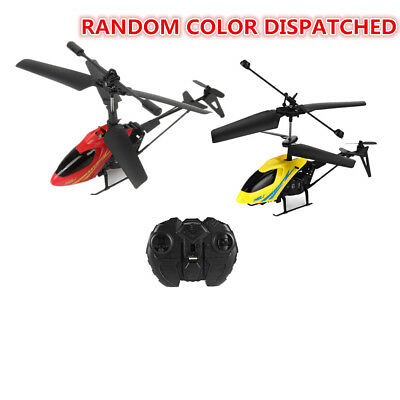 Shatter Resistant Mini RC Helicopter 2.5CH Flight Toys Gyro Radio Control Gift