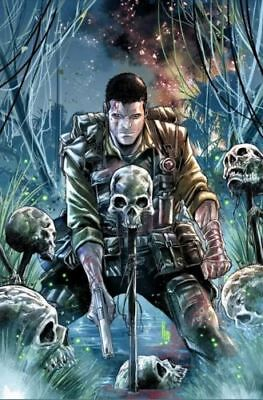 PUNISHER PLATOON #1 Marco Checchetto 1 IN 25 VARIANT COVER