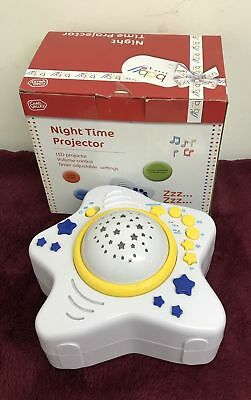 New And Boxed Chad Valley Night Time Projector / Night Light