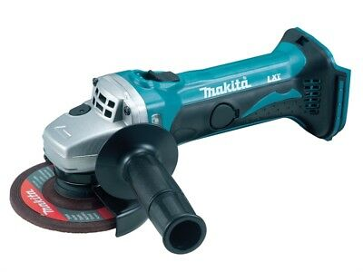 Makita MAKDGA452Z DGA452Z 115mm LXT Angle Grinder 18 Volt Bare Unit FREE POST