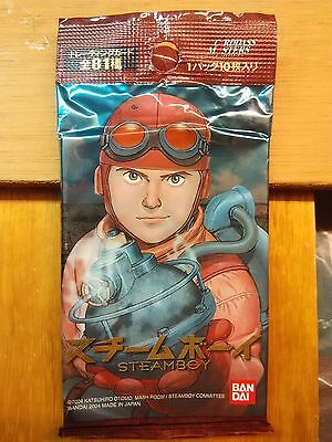 Steamboy Trading Card Pack 2004 Bandai JAPAN New & sealed Sammelkarten