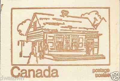 Canada 1971 Centennial Booklet UNI #BK69f - Cover: Canadian Post Office, 1816