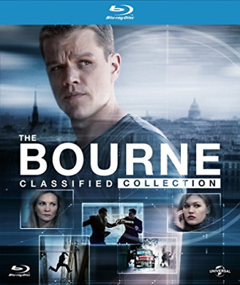 BOURNE CLASSIFIED COLLECTION (BD) DIGIBOOK  Blu-Ray NUOVO