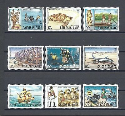 CAICOS ISLANDS 1983-84 SG 15/23 MNH Cat £30