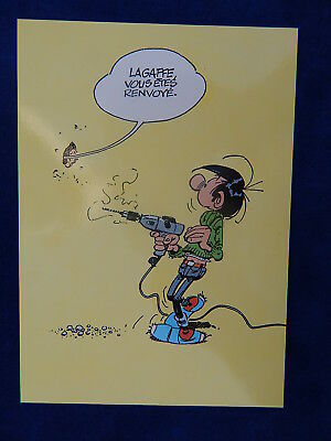 Cpm - Carte Postale - Franquin - Lagaffe - N°14 - Tirage Numerote ! Top !