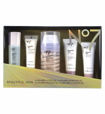 No7 BEAUTIFUL SKIN REGIME COLLECTION  BEAUTY GIFT SET WITH DAY & NIGHT CREAM
