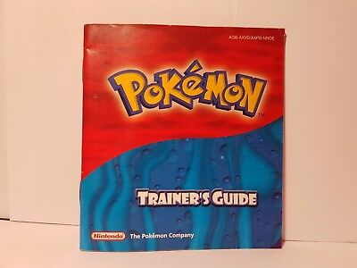 Pokemon Trainers Guide   Saphir & Rubin Edition   Anleitung only   Nintendo  