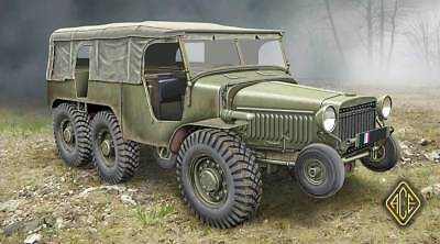 1:72 ACE #72536  -  French WW2 Artillery tractor (6x6) W15T