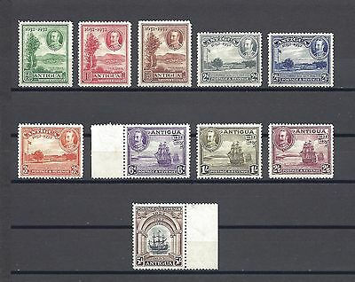 ANTIGUA 1932 SG 81/90 MNH/MINT Cat £225