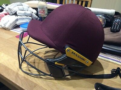 Masuri Cricket Helmet Large Mk2 Test Titanium