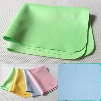 Microfiber Glasses Sunglasses Eyeglasses Cleaning Cloth Lens Cleaner Set DH