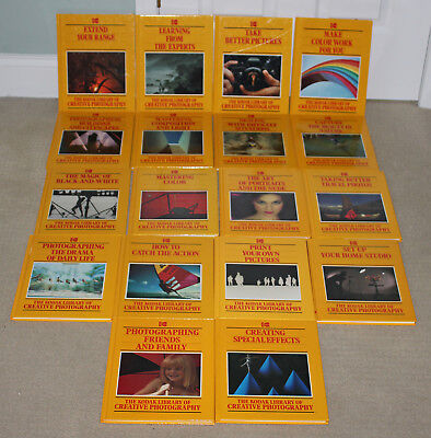 Kodak Library Of Creative Photography Time Life Complete Set Of 18 Excellent