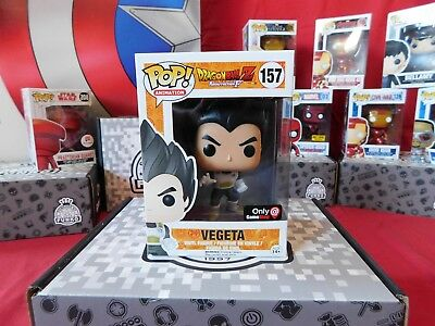 Funko Pop! Vegeta Dragon Ball Z: Game Stop Exclusive #157