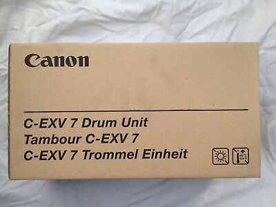 GENUINE Canon C-EXV7 Drum Unit. Code 7815A003(AB). IR1210/1230/1270F