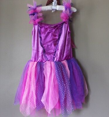 Butterfly Fairy Princess Dress Halloween Costume Girl's Size 6X