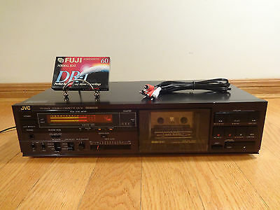 JVC TD-X501 Stereo Auto-Reverse Cassette Deck 1986 Japan TESTED 100% Works Great