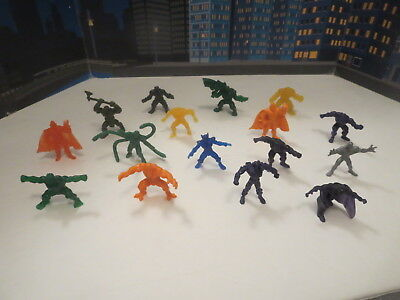 Lot Of Dc Universe Figures Silver Surfer Thor Spiderman