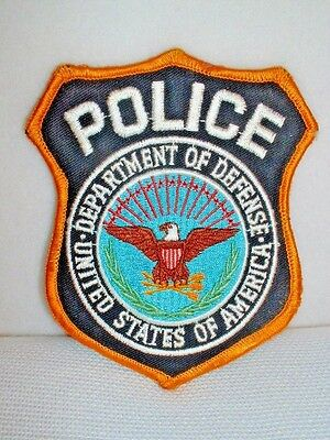 USA Department Of Defense Police Embroidered Patch - New & Unused