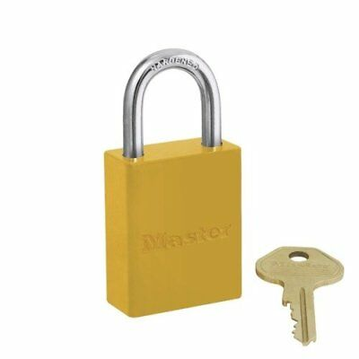 Master Lock 6835YLW Safety Series Padlock Aluminum Body 2-Inch Yellow