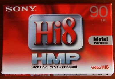 SINGLE SONY Hi8/DIGITAL 8 HMP90 CAMCORDER CASSETTE/TAPE