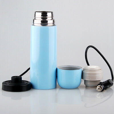 Stainless Steel Car DC12V Kettle Boil Cup Warm Cup Hot Water 100° Car Heater