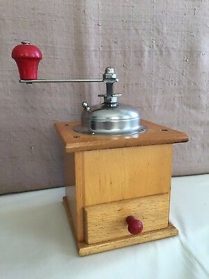 German Wooden Coffee Grinder Spice Mill Germany