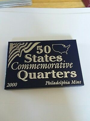 2000 50 State Commemorative Quarters  Philadelphia Mint