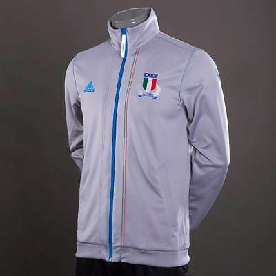 a1babc65c Men s Italy Rugby adidas Anthem Training Track Jacket  BNIB  L and XXL
