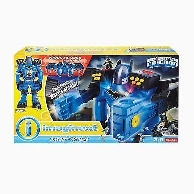 NEW Imaginext DC Super Friends Batbot Xtreme