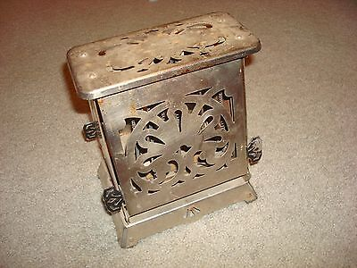 Edison Electric Appliance Antique Hotpoint 117T23 Toaster Chrome Art Deco 1920's