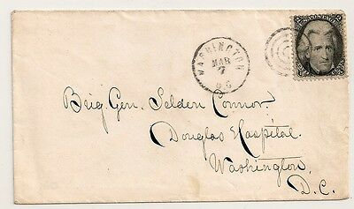 U.S.  #73 BLACKJACK Cover GENERAL SELDEN CONNOR - DOUGLAS HOSPITAL Washington DC