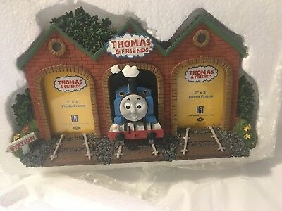 Thomas and Friends Train Double Picture Frame NEW RETIRED
