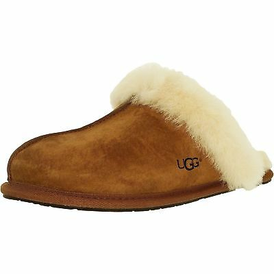 Women UGG Australia Scuffette Slipper 5661 Chestnut 100% Authentic  Brand New